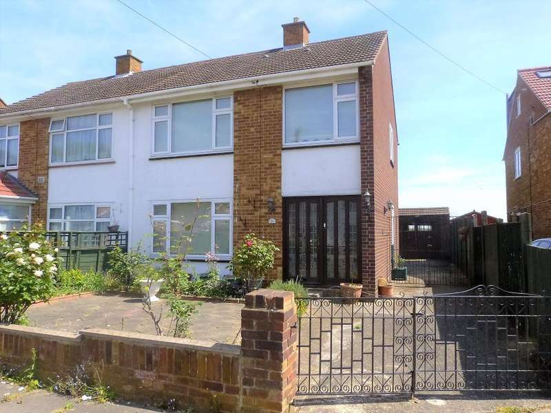 3 Bedrooms Semi Detached House for sale in Richards Close, Harlington, UB3 5EA