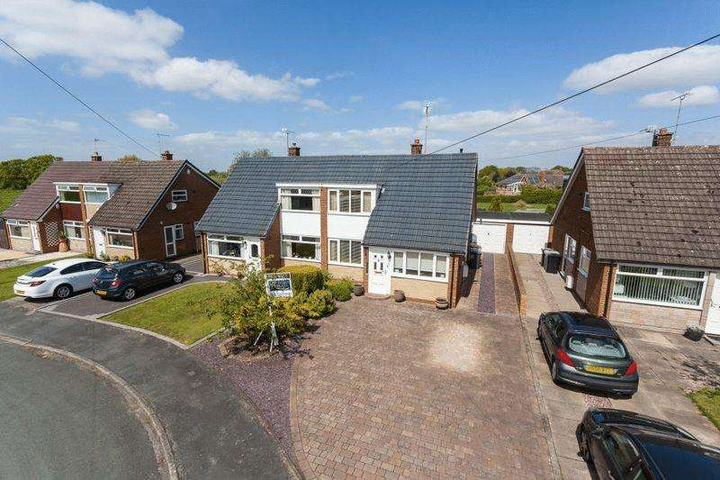 3 Bedrooms Semi Detached House for sale in Sandylands Park, Wistaston, Nr Nantwich