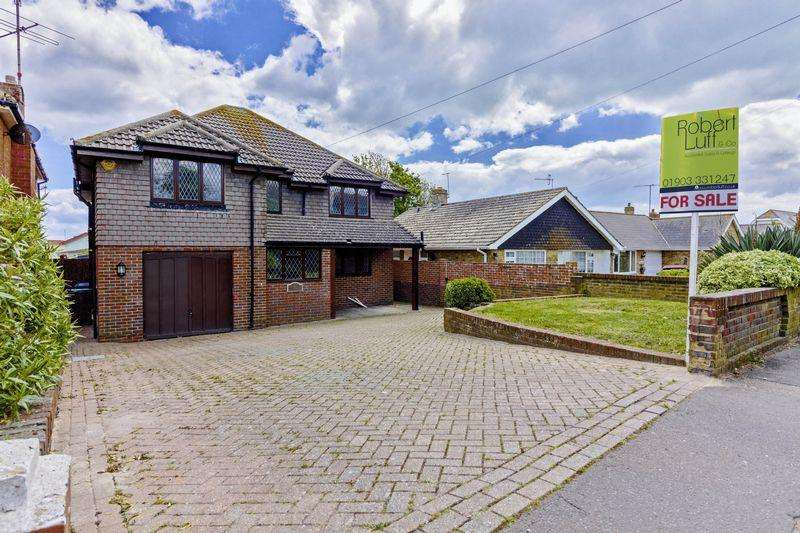 4 Bedrooms Detached House for sale in Old Salts Farm Road, Lancing