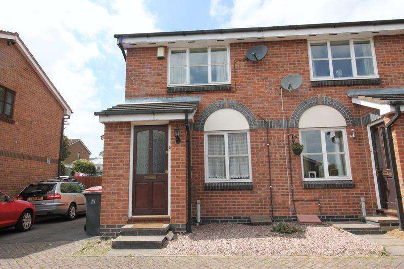 2 Bedrooms Terraced House for sale in Eleanors Close, Aqueduct, Telford