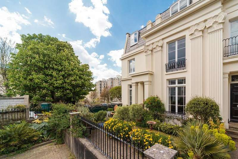 4 Bedrooms End Of Terrace House for sale in Western Terrace, Brighton, BN1