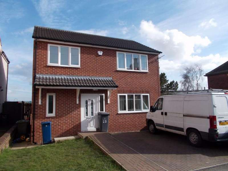 3 Bedrooms Detached House for sale in New Street, Mapplewell, Barnsley, South Yorkshire