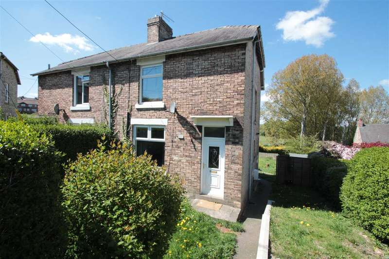 2 Bedrooms Semi Detached House for sale in Valley Gardens, Bridgehill, Consett
