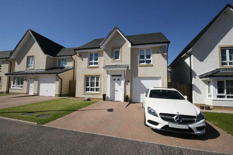 4 Bedrooms Detached House for sale in Lendrick Drive, Falkirk