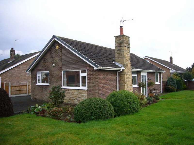 2 Bedrooms Detached Bungalow for sale in Brigg Lane, Camblesforth, Selby