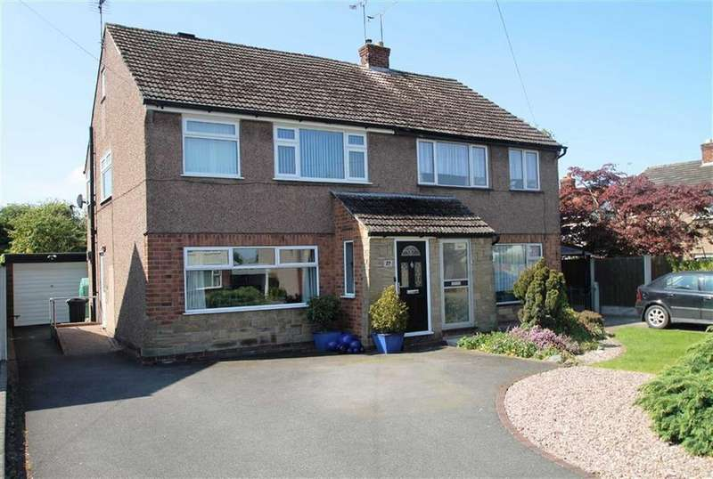 3 Bedrooms Semi Detached House for sale in Buckingham Avenue, Vicars Cross