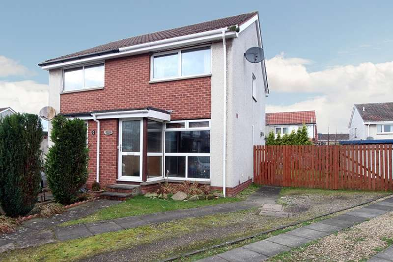 2 Bedrooms Semi Detached House for sale in Cairnwell Place, Cairneyhill, Dunfermline, Fife, KY12 8XE