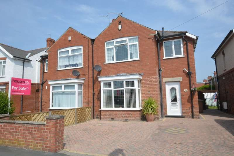 3 Bedrooms Semi Detached House for sale in Woodland Avenue, Goole