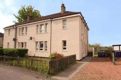 2 Bedrooms Flat for sale in Bruce Road, Paisley, Renfrewshire
