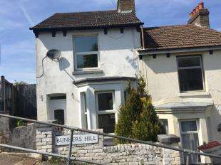 2 Bedrooms End Of Terrace House for sale in Seaview Terrace, Bunkers Hill, Dover, Kent