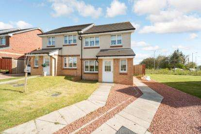 3 Bedrooms Semi Detached House for sale in Wilkie Drive, Motherwell
