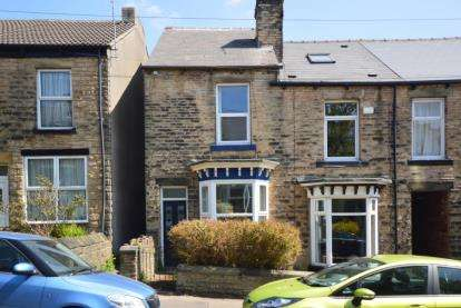 3 Bedrooms End Of Terrace House for sale in Brighton Terrace Road, Sheffield, South Yorkshire