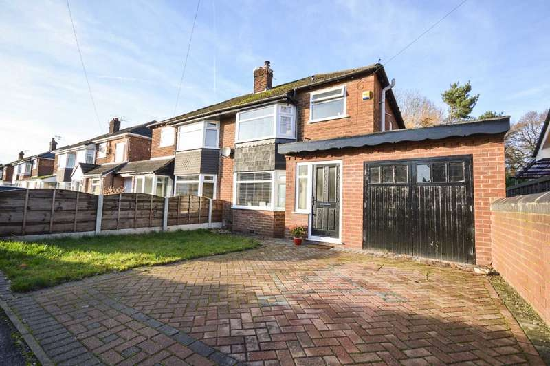 3 Bedrooms Semi Detached House for sale in Woking Road, Cheadle Hulme
