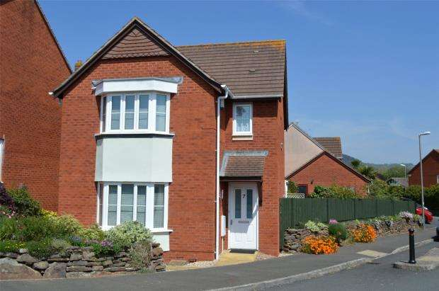 3 Bedrooms Detached House for sale in Jubilee Gardens, Sidmouth, Devon
