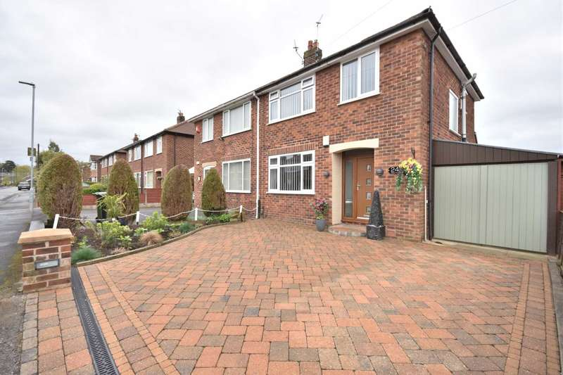 3 Bedrooms Semi Detached House for sale in MILTON DRIVE, POYNTON