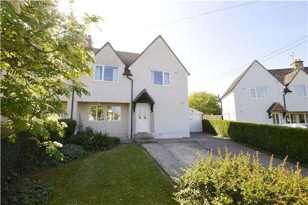 3 Bedrooms Semi Detached House for sale in Box Crescent, Minchinhampton, Gloucestershire, GL6 9DJ
