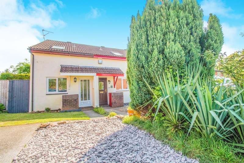 1 Bedroom End Of Terrace House for sale in Tintagel Close, Thornhill, Cardiff