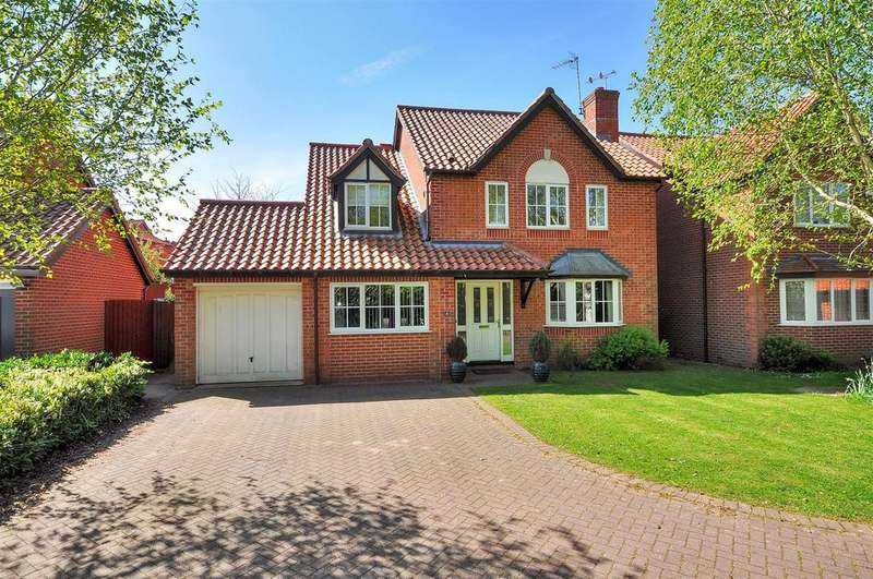 4 Bedrooms Detached House for sale in The Riddings, Southwell