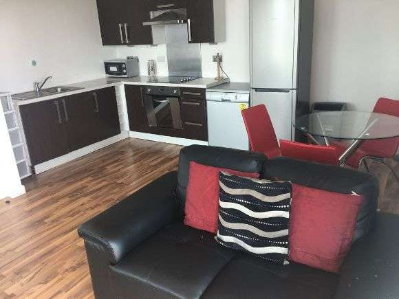 2 Bedrooms Flat for rent in City Point, Velocity Village, Sheffield