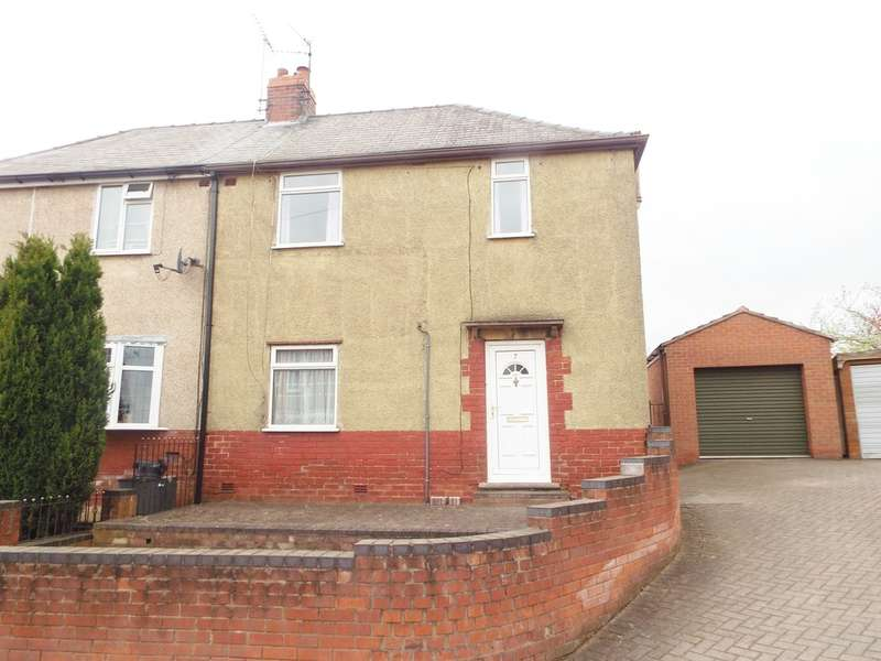 3 Bedrooms Semi Detached House for sale in Jubilee Place, Whitwell