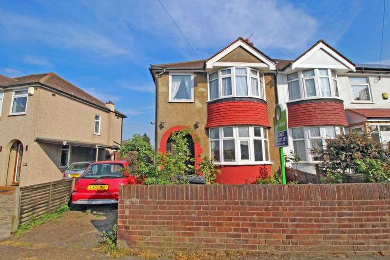 3 Bedrooms Semi Detached House for sale in Wentworth Drive, Dartford, DA1