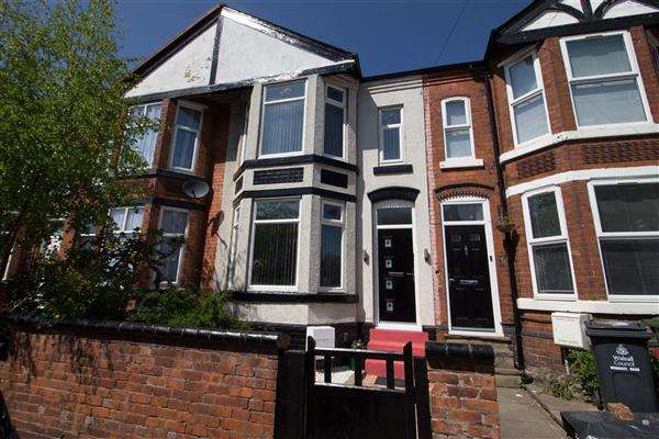 5 Bedrooms Terraced House for sale in Highgate Road, Walsall