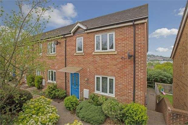 3 Bedrooms End Of Terrace House for sale in Frobisher Road, Newton Abbot, Devon. TQ12 4HT