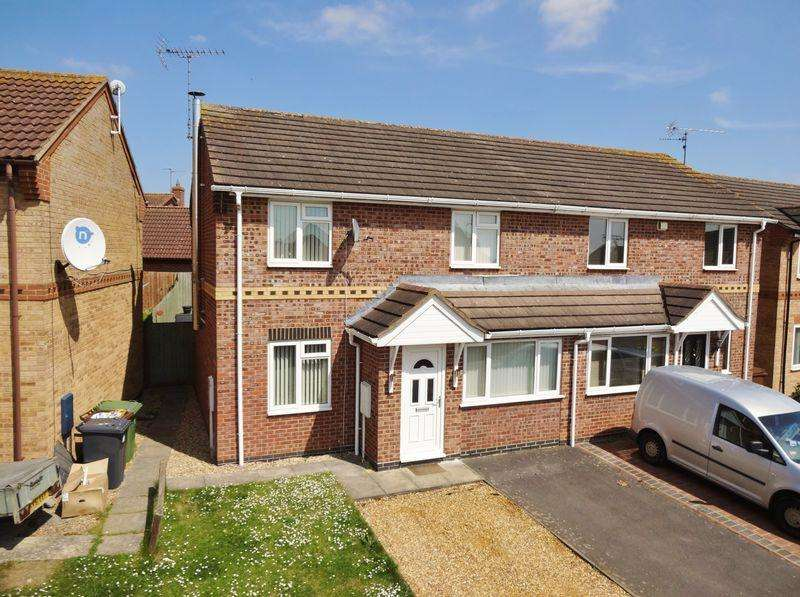 3 Bedrooms Semi Detached House for sale in Applegarth Close, Corby