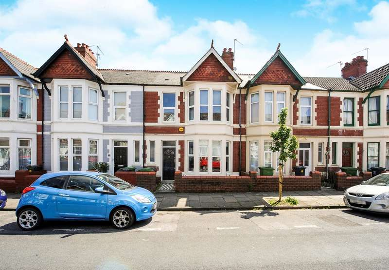 4 Bedrooms Terraced House for sale in Australia Road, Cardiff