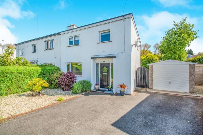 3 Bedrooms Semi Detached House for sale in Heol Pant Y Rhyn, Cardiff