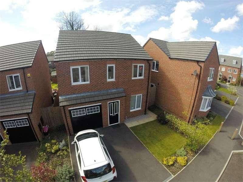 3 Bedrooms Detached House for sale in Sculthorpe Close, Cunningham Grange, ST HELENS, Merseyside