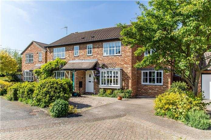 4 Bedrooms Semi Detached House for sale in The Elms, Haslingfield, Cambridge