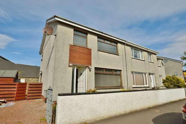 3 Bedrooms Semi-detached Villa House for sale in 33A Brisbane Road, Largs, KA30 8LH