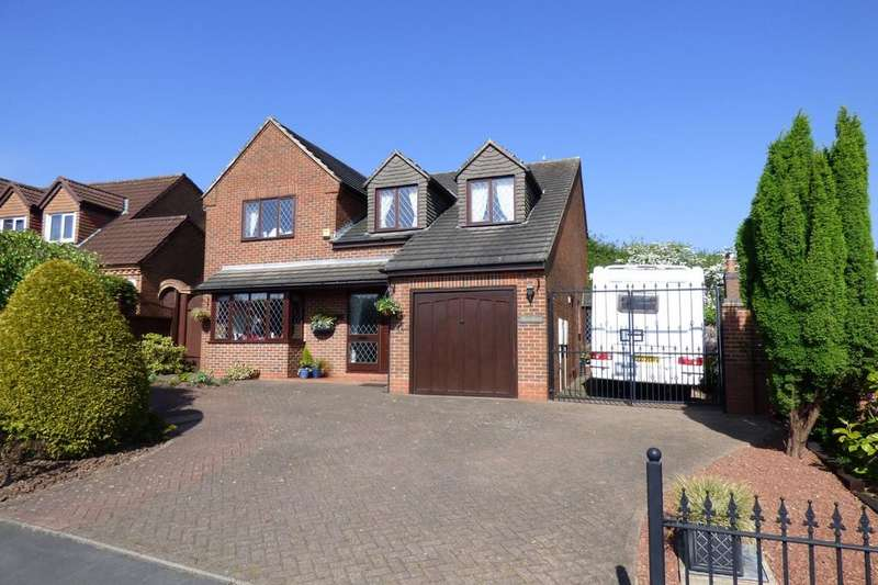 4 Bedrooms Detached House for sale in Britannia Drive, Stretton