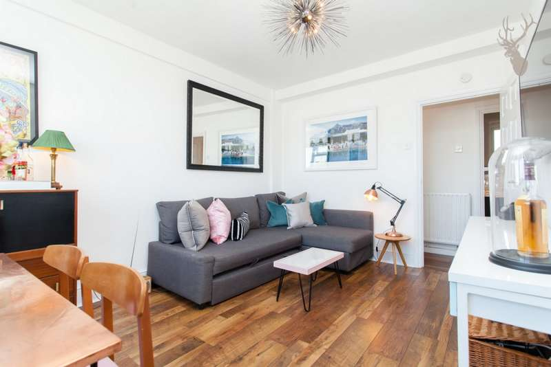2 Bedrooms Flat for sale in Godwin House, Thurtle Road, London, E2