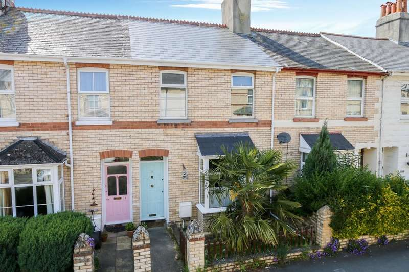 3 Bedrooms Terraced House for sale in Deer Park Road, Newton Abbot