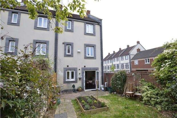 4 Bedrooms End Of Terrace House for sale in Trubshaw Close, Horfield, BRISTOL, BS7 0AD