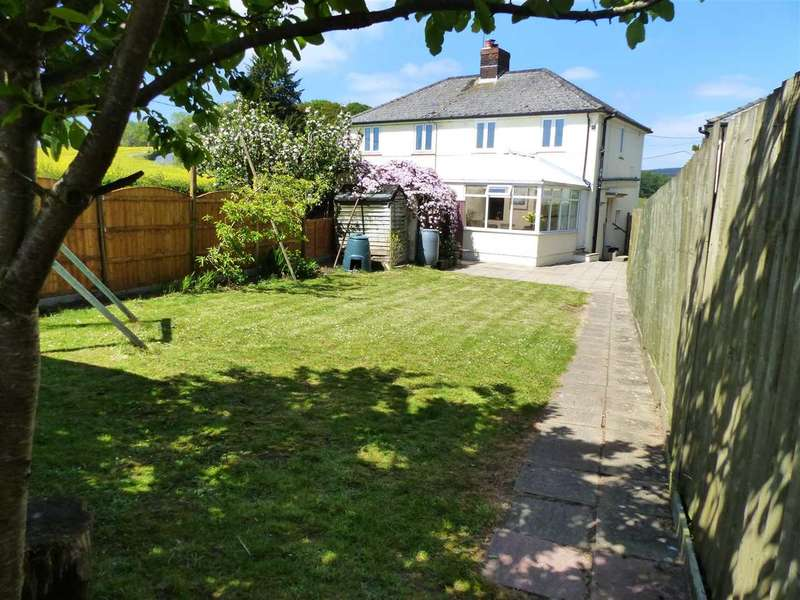 3 Bedrooms Semi Detached House for sale in Cop Hill, Itton, Chepstow