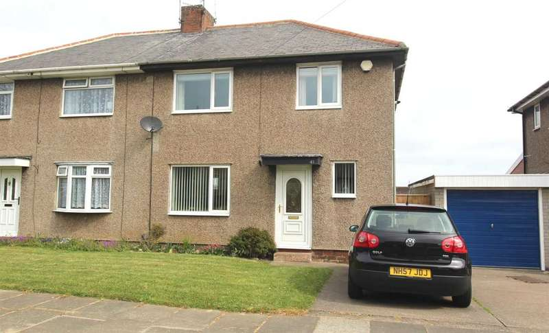 3 Bedrooms Semi Detached House for sale in Mayfield Avenue, Mayfield Grange, Cramlington