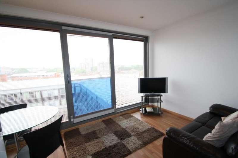 Studio Flat for sale in CITISPACE WEST, 2 LEYLANDS ROAD, LEEDS, LS2 7JT