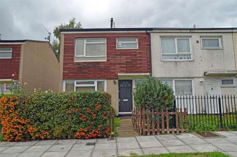 3 Bedrooms End Of Terrace House for sale in Don Close, Tilehurst, Reading, Berkshire, RG30