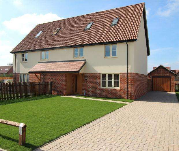 3 Bedrooms Semi Detached House for sale in Kenninghall Road, East Harling, Norfolk