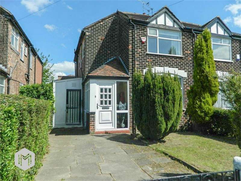 3 Bedrooms Semi Detached House for sale in Meade Hill Road, Prestwich, Manchester, Lancashire
