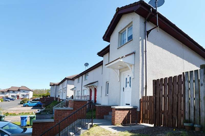 3 Bedrooms End Of Terrace House for sale in Stanley Gardens, Maddiston, Falkirk, FK2 0LN
