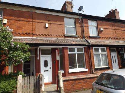 2 Bedrooms Terraced House for sale in Rushmere Avenue, Levenshulme, Manchester, Greater Manchester