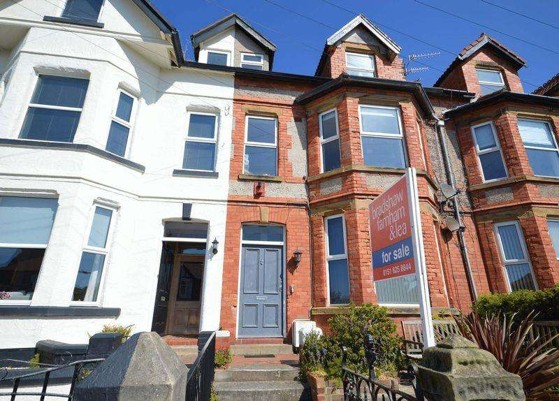 4 Bedrooms Maisonette Flat for sale in Shrewsbury Road, West Kirby