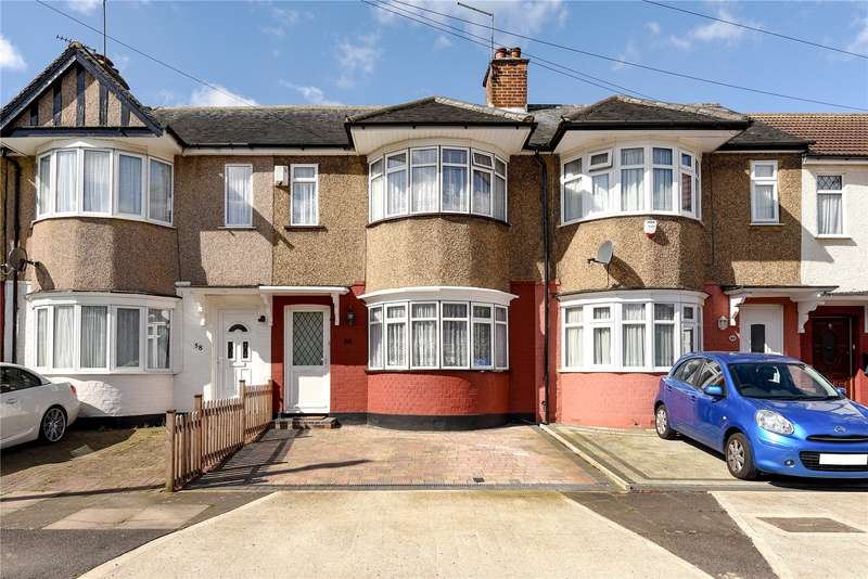 2 Bedrooms Terraced House for sale in Shaldon Drive, Ruislip, Middlesex, HA4