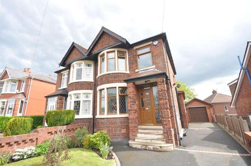 3 Bedrooms Semi Detached House for sale in Merrick Avenue, Preston, Lancashire, PR1 5TL