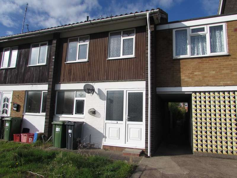 2 Bedrooms Terraced House for sale in Saltisford Gardens, Warwick, Warwick cv34