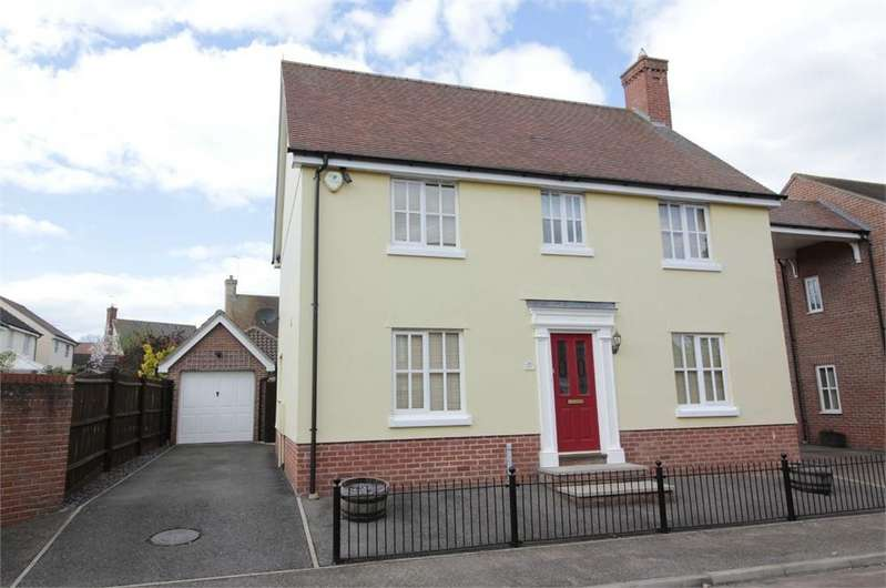 4 Bedrooms Detached House for sale in Warren Lingley Way, Tiptree, Essex